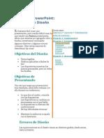 Diseño de ppt en PowerPoint