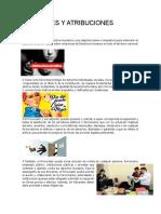 Funciones y Atribuciones