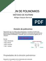 Milagrodivisión de Polinomios