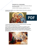 Biografía de La Virgen María