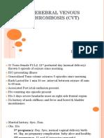 Cerebral Venous Thrombosis (Cvt)
