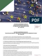 PROJECTION DES RÉSULTATS DES ÉLECTIONS EUROPÉENNES 2019