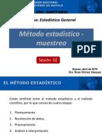 Sesión 02 - Método estadistico-Muestreo (1).pptx