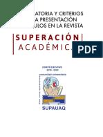 Lineamientos Superacion Academica ConvocatoriaENE18