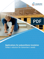 Applications for Polyurethane Insulation Today's Solution for Tomorrow's Needs