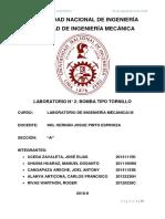 Informe Final de Bomba Tipo Tornillo