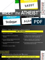Meet the Atheist Challenges