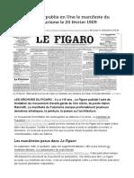 Manifesto Futurista - Marinetti