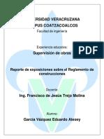 Reporte de RCFD