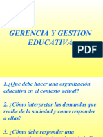 Gestion Educativa y Aprendizaje Org.