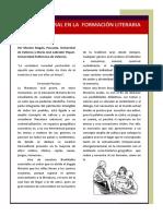 Pascuala;Labrador - Literatura Oral en La Formación Literaria