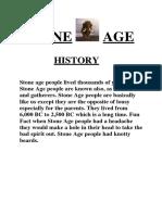 Stone Age Adam 3rd Class