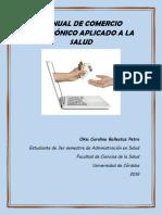 Manual de Comercio Electrónico Aplicado a La Salud