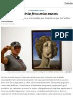 Prohibir las fotos en los museos