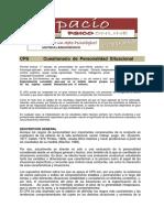 1. Generalidades del Cuestionario de Personalidad Situacional.