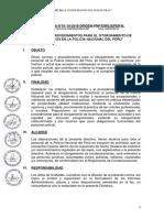 DIRECTIVA N°01-19-2016 DIRGEN, SOBRE INCENTIVOS
