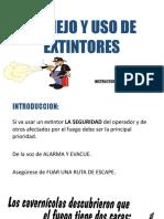 MANEJO Y SU DE EXTINTORES.pptx