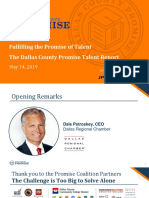 Dallas County Promise Talent Report . Final