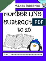 NumberLine Subtraction