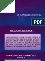 SEPARACIÓN DE CUERPOS.pptx