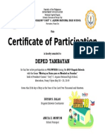 Be 2019 Cert Volunteer