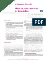 Aumento aislado de transaminasas