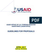 USAID - OFDA - Guideline
