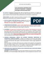 GGF 001 Guía Para Pago de Matrícula Semestre 2019 1