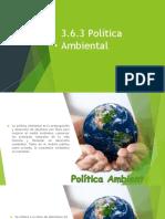 3.6.3 Politica Ambiental