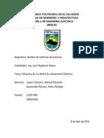 RESUMEN INFLUENCIA EN LA ALTITUD EN AISLAMIENTO ELECTRICO.docx