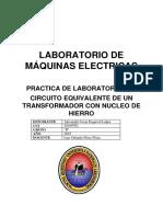 LABORATORIO N°3 MAQUINAS ELECTRICAS