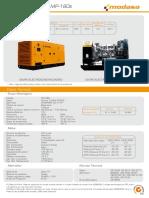 Grupo Electrógeno MP-180s