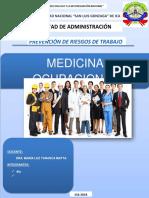 Medicina Ocupacional Yarasca