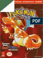 Pokémon Red & Blue Official Guide (Prima 1999)