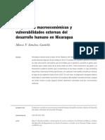 Sanchez, Marco 2015 Disyuntivas Macroeconómicas y Vulnerabilidades Externas Del Desarrollo Humano en Nicaragua