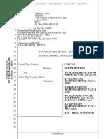 Lanard Toys v. Anker - Complaint