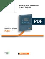 MG - Manual de Usuario Sepam Serie 20