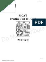 Practice Test 10
