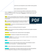literature vocabulary