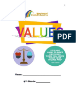 9th Basic Values