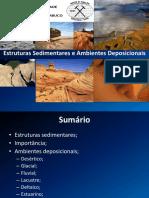 Aula 9 - Estruturas e Ambientes Deposicionais