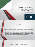 Cuba de Nivel Constante