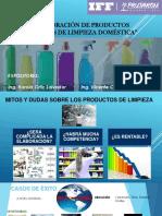Elaboracion de Productos de Limpieza 2019