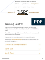 Training Centres Archive – Construction Industry Scaffolders Record Scheme (CISRS)