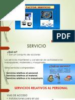 Factor - Servicio
