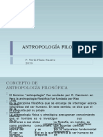 ANTROPOLOGIA SEMINARIO 2019