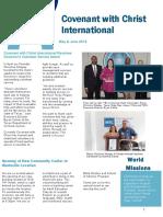 May & June Newsletter 2019
