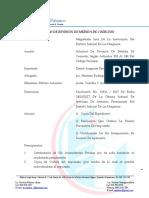 Instancia en Solicitud de Revision Actualizada Con El Nuevo Cpp