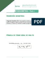02 - Progressão Geométrica - Parte 1 - Teoria
