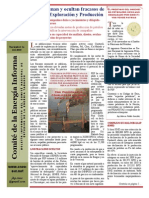 Comité de Energía Informa No. 91 Nov 01 BARRENA PEP Fracasa